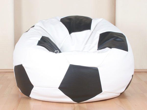 POOFF Мяч оксфорд черно-белый - купить в Пушкино Низкие цены на кресло-мешок в интернет-магазине elmall58