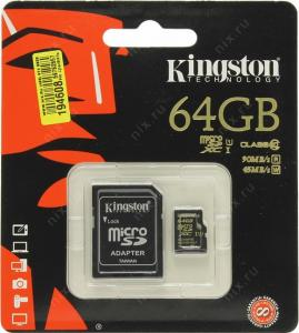 Kingston SDCA10/64GB