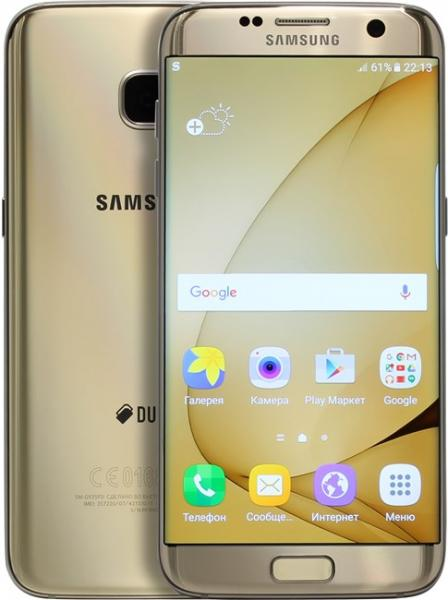 Samsung SM-G935FD Galaxy S7 Edge 32Gb Gold (золотой)