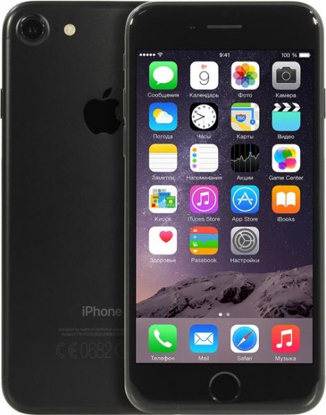 Apple iPhone 7 32Gb Black (MN8X2RU/A)