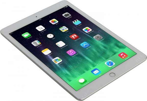 Планшет Apple  iPad Wi-Fi + Cellular 128GB - Silver (MP272RU/A)