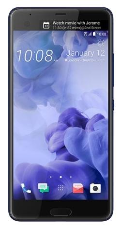 HTC U Ultra EEA Brilliant Black 128Gb