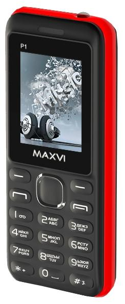 Телефон MAXVI P1 Blue-Black
