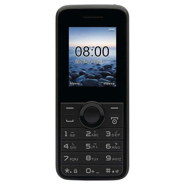 Телефон Philips E106 Black