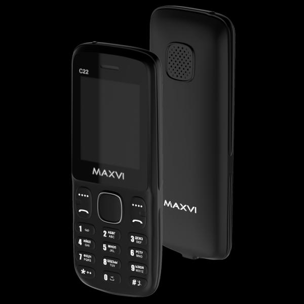 Телефон Maxvi C22 Black